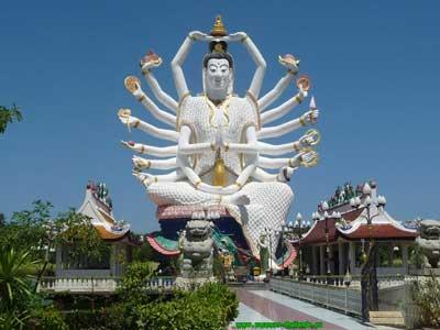 déesse à Koh Samui en Thailande