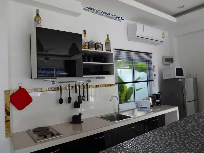 villas vacances thailande, page de la photo 33 cuisine équipée ...